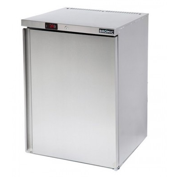 Bromic UBF0140SD S/Steel Under Bench Freezer – 115 Litre