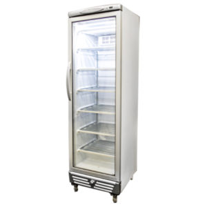 Bromic UF0374S LED Glass Door Static Freezer – 300 Litre