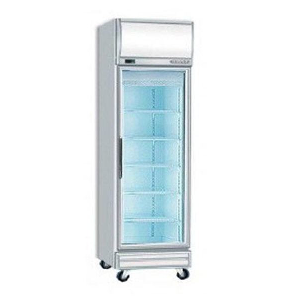 Bromic UF0500LF Single Glass Door Fan Forced Freezer w/Lightbox