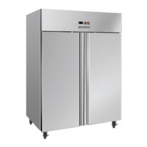 Bromic UF1300SDF Two Door Gastronorm Storage Freezer – 1300 Litre
