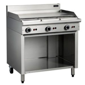 Cobra 900mm Griddle On Open Cabinet Base C9A