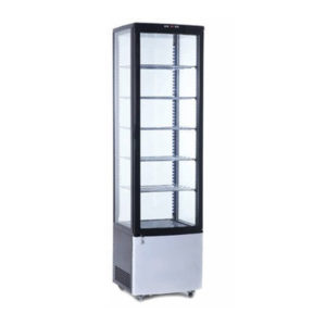 Como Four Sided Glass Display Refrigerator