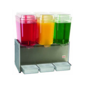 Crathco D355-3 Triple Bowl Drink Dispenser