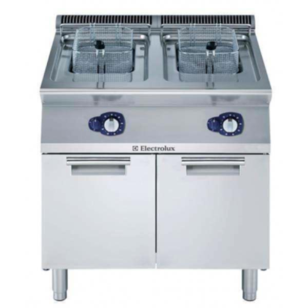 Electrolux Double Pan Freestanding Gas Fryer E7FRGH2GF0
