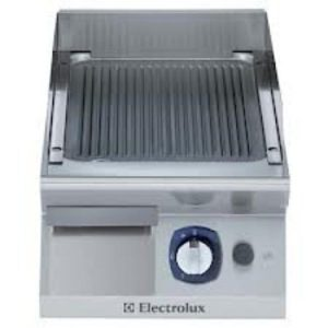 Electrolux ELCO 700 Series Freestanding Gas Fry Top – 400mm Ribbed