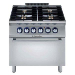 Electrolux ELCO 700 Series 4 Burner Gas Oven Range E7GCGH4CGA