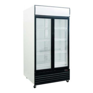 Exquisite DC1000P Double Door Display Fridge – 1000 Litre