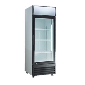 Exquisite DC200P Single Door Display Fridge – 200 Litre