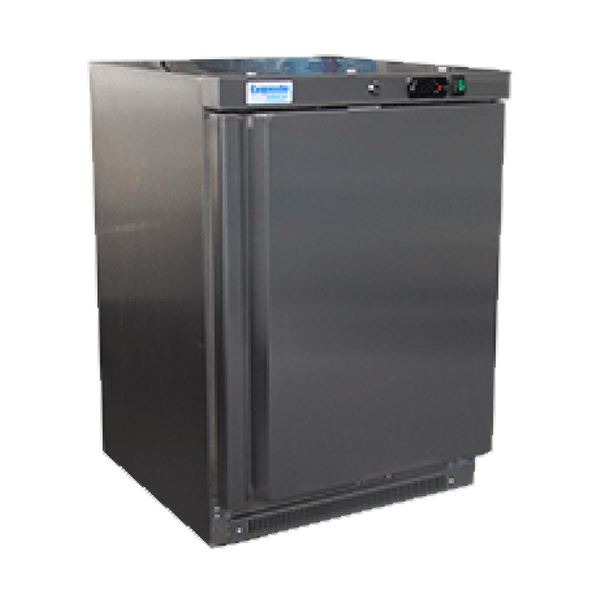 Exquisite MC200H Single Door Under Bench Chiller – Solid Door