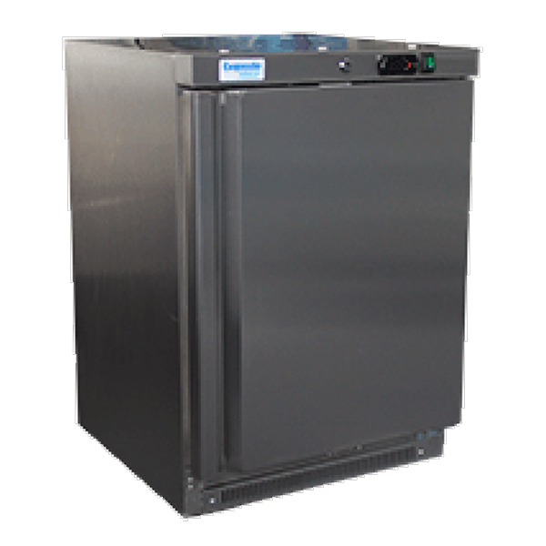 Exquisite MF200H Single Door Under Bench Freezer - Solid Door