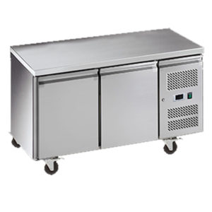 Exquisite SSC260H Snack Size Under Bench Chiller – Solid Doors