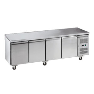 Exquisite SSC550H Snack Size Under Bench Chiller – Solid Doors