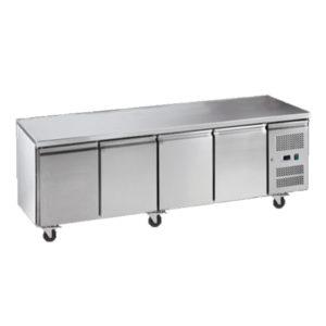 Exquisite SSC550H Snack Size Under Bench Chiller – Solid Doors