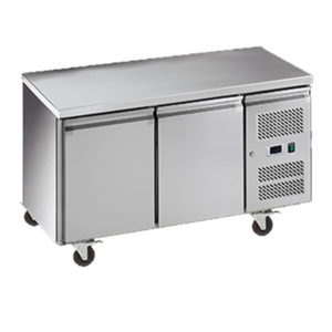Exquisite SSF260H Snack Size Under Bench Freezer – Solid Doors