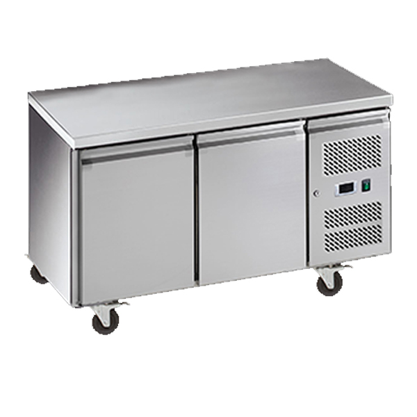 Exquisite SSF260H Snack Size Under Bench Freezer - Solid Doors