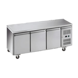 Exquisite SSF400H Snack Size Under Bench Freezer – Solid Doors