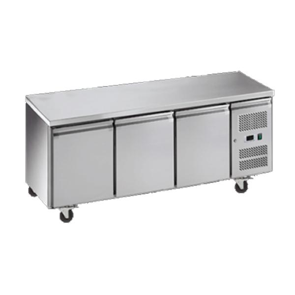 Exquisite SSF400H Snack Size Under Bench Freezer - Solid Doors