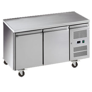 Exquisite USF260H Two Door Underbench Freezer