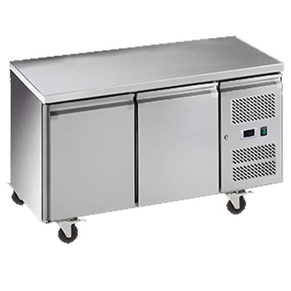 Exquisite USF260H Two Door Underbench Freezer