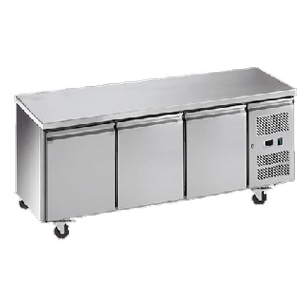Exquisite USF400H Three Door Underbench Freezer