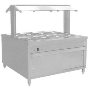 F.E.D. Heated Buffet Bain Marie Centre Servery BS8H