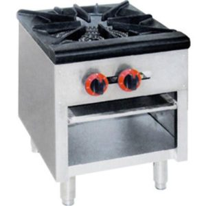 F.E.D. Dual Ring Burner Single Hob