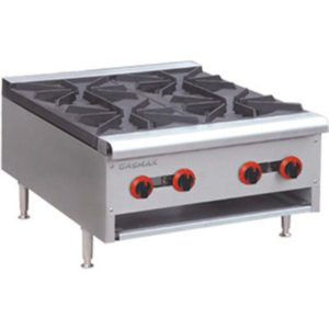 F.E.D. Gasmax Four Burner Gas Cook Top RB-4(R)