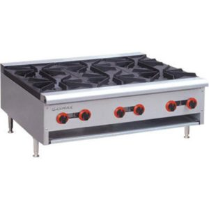 F.E.D. Gasmax Six Burner Cook Top RB-6(R)