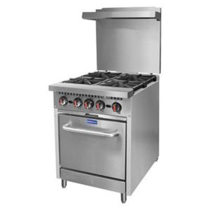 F.E.D. Gasmax 4 Burner With Oven S24