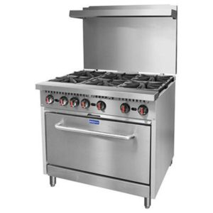 F.E.D. Gasmax 6 Burner With Oven S36