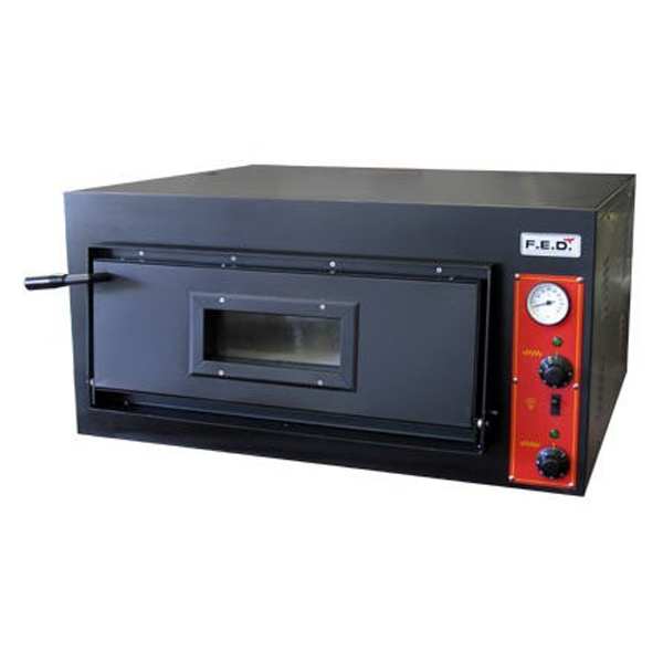 F.E.D. EP-1-1-SD Black Panther Single Deck Pizza Oven