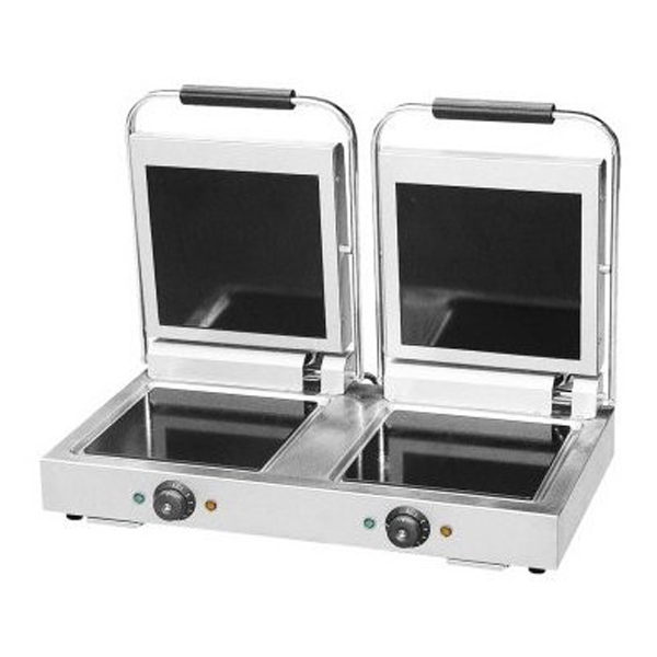 F.E.D. FC-2 Large Double Ceramic Contact Grill