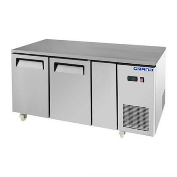 F.E.D. GTF2100B GRAND True Quality Two Door Gastronorm Work Bench Freezer