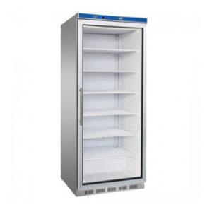 F.E.D. HR600G S/S Display Fridge With Glass Door – 620 Litre