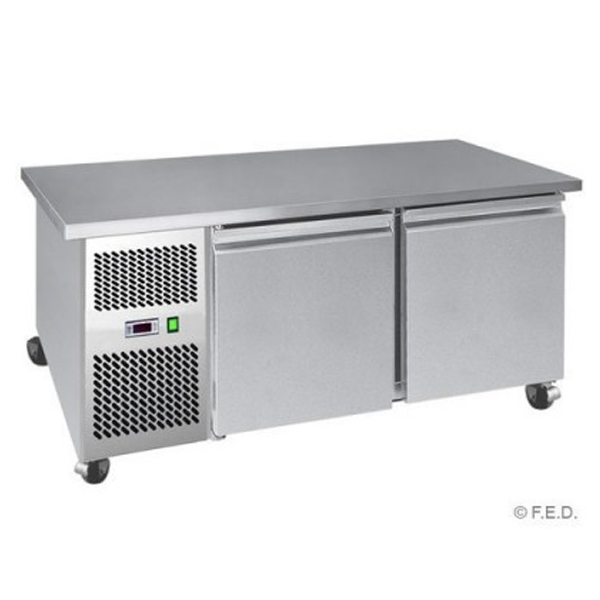 F.E.D. LBF150 Two Large Door Lowboy Fridge
