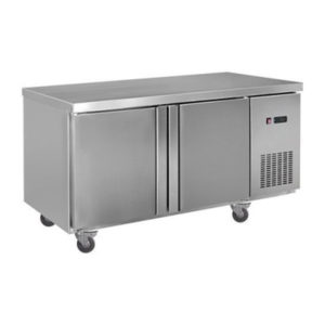 F.E.D. LDWB180F Static Two Large Door S/Steel Workbench Freezer