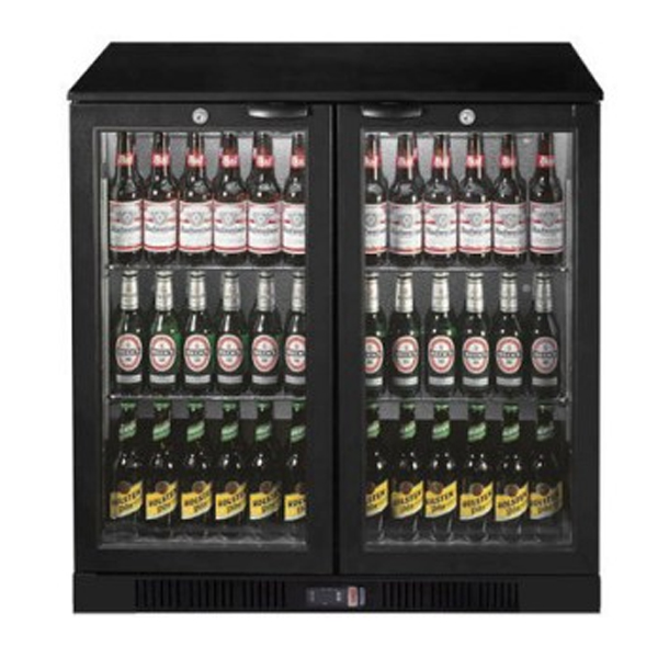 F.E.D. LG-208HC Under Bench Two Door Bar Cooler