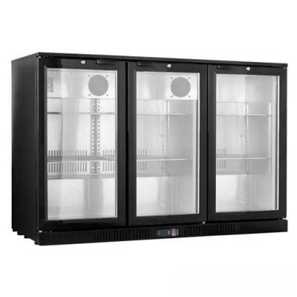 F.E.D. LG-330HC Under Bench Three Door Bar Cooler