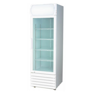 F.E.D. LG-540GE Large Single Door Display Fridge