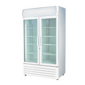 F.E.D. LG-730GE Two Door Display Fridge