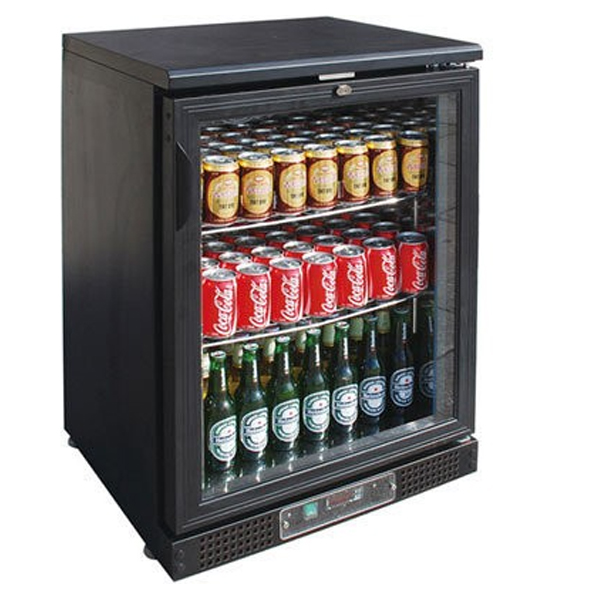 F.E.D. SC148G Single Door BLACK MAGIC Bar Cooler