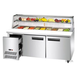 F.E.D. SCB/15 Two Door DELUXE Sandwich Bar