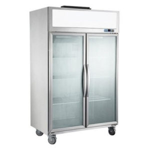 F.E.D. SUFG1000 Double Door Display Freezer
