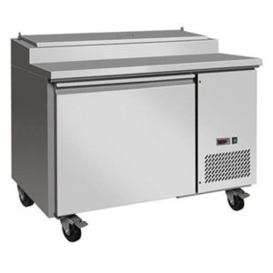 F.E.D. TPP44 Tropicalised Single Door Pizza Prep Fridge