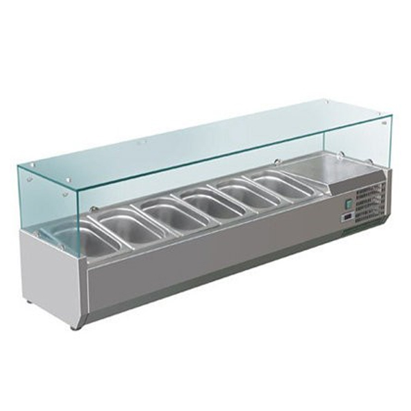 F.E.D. VRX1500/380 DELUXE Pizza / Sandwich Bar Prep Top - 1500mm