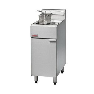 FastFri 400mm Economy Gas Deep Fryer FF18