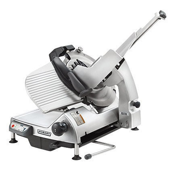 Hobart HS9 Gravity Fed 6 Speed Automatic Safety Slicer w/Removable Knife - 330mm
