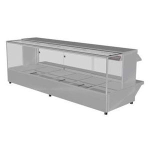 Woodson W.HFS26 Hot Food Bar – Straight Glass 2005mm