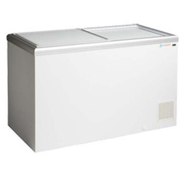 ICS Chest Freezer with Solid Sliding Lids