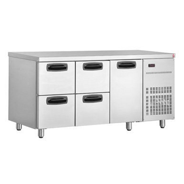 Inomak UBD4000 Under Bar Fridge with 1 Door / 4 Drawers
